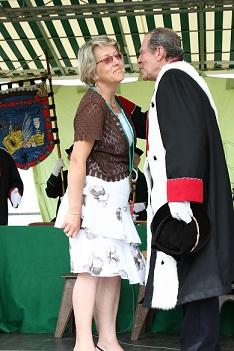 Une Dame de la Duchesse est intronisée à la Regrippière