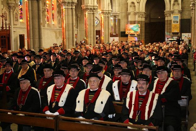 La Saint Vincent fêtée en 2007 en l'église Saint Martin de Vertou...
