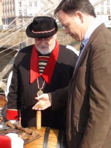 Stéphane Pousset, grand connaisseur de la Loire, ne veut pas rester à quai...