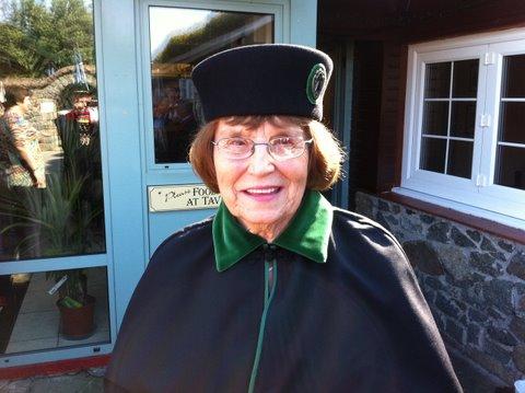 Shirley Breeden nouvelle Dame de la Duchesse Anne de Guernsey