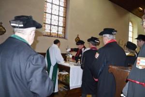 Le rituel de l'Offertoire. (photo A. Gaigeard)