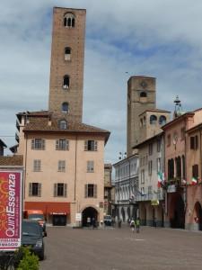Le centre historique d'Alba