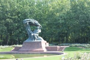 statue Chopin