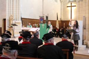 Saint Vincent a été ravi par cette célébration priante et fort bien animée...