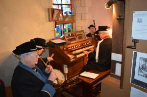 Sonneurs et organiste ont donné le meilleur d'eux-mêmes...
